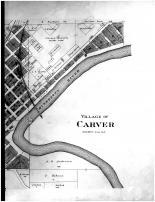 Carver Village - Right, Carver County 1898