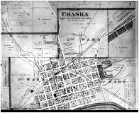 Chaska City, Chanhassen - Above, Carver County 1898