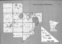 Index Map, Carver County 1992