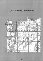 Index Map 1, Cass County 1992