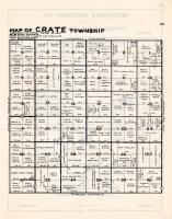 Crate Township, Gluek, Chippewa County 1940c