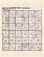 Louriston Township, Chippewa County 1940c