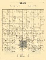 Ulen Township, Clay County 1961