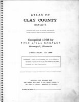Title Page, Clay County 1968