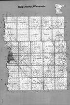 Index Map, Clay County 1992