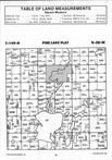 Pine Lake T149N-R38W, Clearwater County 1994 Published by Farm and Home Publishers, LTD
