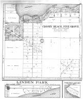 Crosby Beach, Pine Grove, Linden Park, East Twin Lake Lots, Crow Wing County 1913