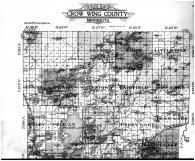 Crow Wing Outline Map - Above, Crow Wing County 1913