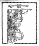 Fract Townships 134 and 135 N Range 27 W, Mission Lake, Crow Wing County 1913