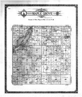 Maple Grove Township, Upper Long Lake, Crow Wing County 1913