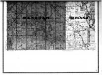Hastings City, Marshan and Ravenna Townships - Below, Dakota County 1916 Microfilm