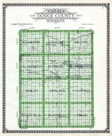 Dodge County Outline Map, Dodge County 1937