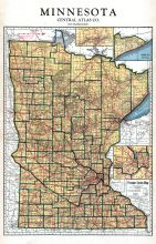 Minnesota State Map, Dodge County 1937