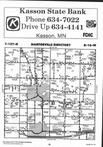 Dodge County Map Image 014, Dodge and Steele Counties 1994