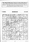 Dodge County Map Image 015, Dodge and Steele Counties 1994