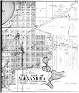 Alexandria - West - Right, Douglas County 1912