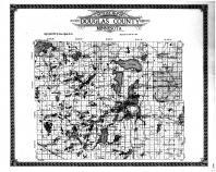 Douglas County Outline Map, Douglas County 1912