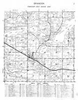 Brandon Township, Douglas County 1950
