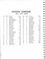 Hudson - Small Tract Owners, Douglas County 1971