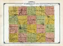 Topographical Map, Faribault County 1913