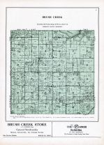 Brush Creek Township, Walnut Lake, Faribault County 1929