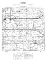 Foster Township, Faribault County 1962