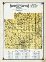 Spring Valley Township, Fillmore County 1915