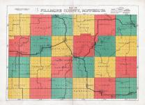 Fillmore County Map, Fillmore County 1928