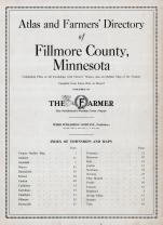 Title Page, Fillmore County 1928