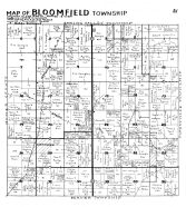 Bloomfield Township, Ostrander, Etna, Fillmore County 1940c