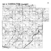 Carrolton Township, Lanesboro - West, Preston - NE, Fillmore County 1940c