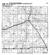 Fountain Township, Preston - NW, Fillmore County 1940c