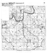 Holt Township, Highland, Zanesboro - East, Whalen, Fillmore County 1940c