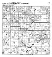 Norway Township, Bratsberg, Fillmore County 1940c