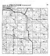 Preston Township, Preston - SE, Fillmore County 1940c