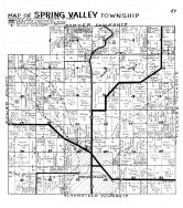 Spring Valley Township, Fillmore County 1940c