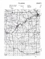 Fillmore County Highway Map - East, Fillmore County 1956
