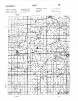 Fillmore County Highway Map - West, Fillmore County 1956