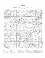 Jordan Township, Fillmore County 1956