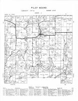 Pilot Mound Township, Middle Branch of Root River, Fillmore County 1956