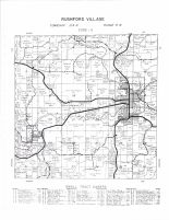 Rushford Village Township, Peterson, Rushford, South Rushford, Fillmore County 1956