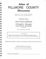 Title Page, Fillmore County 1983