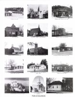 Rushford Fire, First Presbyterian Church, Public Library, Wykoff Jail Haus, St. Joseph's Catholic Church, Fillmore County 2003