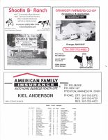 Bristol Township Owners Directory, Ad - Shootin B Ranch, American Family Insurance, Granger Farmers Co-op, Fillmore County 2003