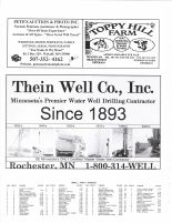 Fillmore Township Owners Directory, Ad - Pete's Auction and Photo, Toppy Hill Farm, Thein Well Co., Fillmore County 2003