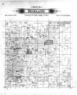 Riceland Township, Lerdal PO, Freeborn County 1895