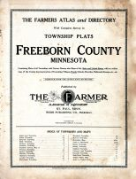 Title Page, Freeborn County 1913