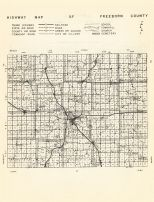 County Map, Freeborn County 1955