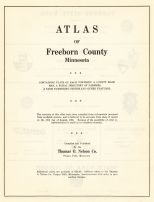 Title Page, Freeborn County 1955