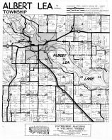 Albert Lea Township, Fountain Lake, Pickerel Lake, Albert Lea Lake, Freeborn County 195x